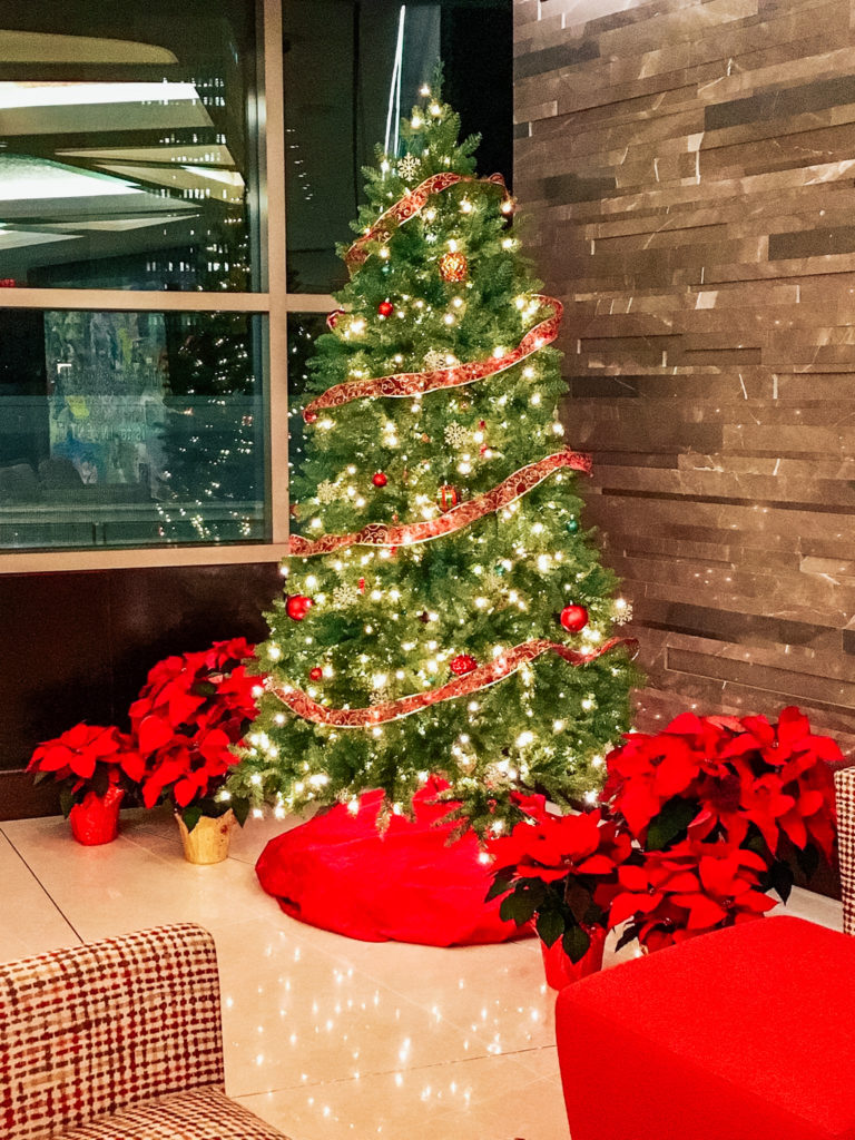 Christmas Tree at Endeavor