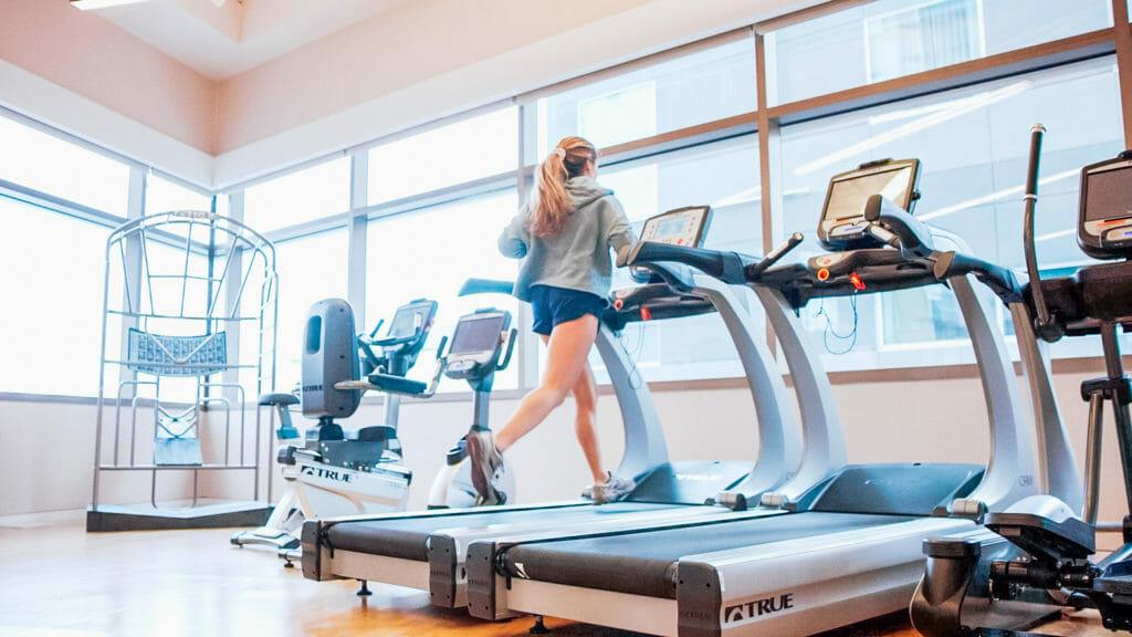 Endeavor Member Amenities - Treadmill